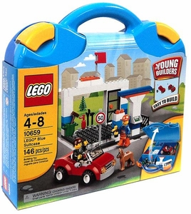 LEGO Young Builders Set #10659 Blue Suitcase