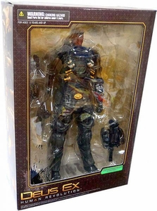 Deus Ex Human Revolution Play Arts Kai Series 1 Action Figure Barret