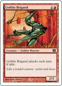 Magic the Gathering Ninth Edition Single Card Common #190 Goblin Brigand