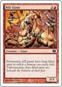 Magic the Gathering Ninth Edition Single Card Common #197 Hill Giant