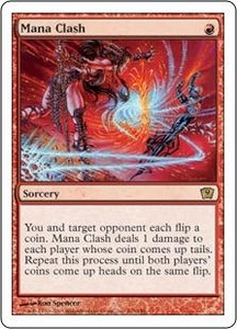 Magic the Gathering Ninth Edition Single Card Rare #203 Mana Clash
