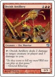 Magic the Gathering Ninth Edition Single Card Uncommon #206 Orcish Artillery