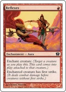 Magic the Gathering Ninth Edition Single Card Common #211 Reflexes