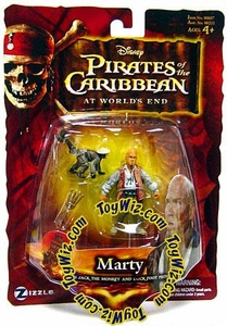 Disney Pirates of the Caribbean At Worlds End Zizzle 3 3/4 Inch Action Figure Series 3 Marty