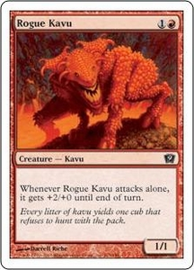 Magic the Gathering Ninth Edition Single Card Common #213 Rogue Kavu