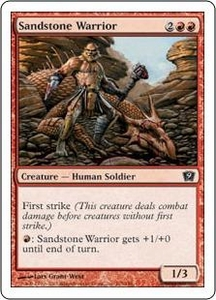 Magic the Gathering Ninth Edition Single Card Common #215 Sandstone Warrior