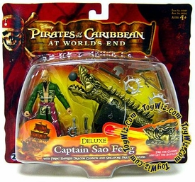 Disney Pirates of the Caribbean At Worlds End Zizzle 3 3/4 Inch Action Figure Series 3 DELUXE Captain Sao Feng