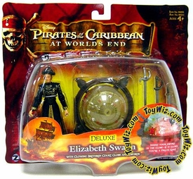 Disney Pirates of the Caribbean At Worlds End Zizzle 3 3/4 Inch Action Figure Series 3 DELUXE Elizabeth Swann