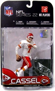 McFarlane Toys NFL Sports Picks Series 22 [2009 Wave 3] Action Figure Matt Cassel (Kansas City Chiefs) White Jersey Variant
