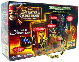 Zizzle Pirates of the Caribbean At World's End Toy Singapore Battle Playset
