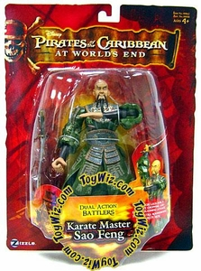 Zizzle Pirates of the Caribbean At World's End Dual Action Battler Figure Karate Master Sao Feng