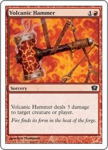 Magic the Gathering Ninth Edition Single Card Common #226 Volcanic Hammer