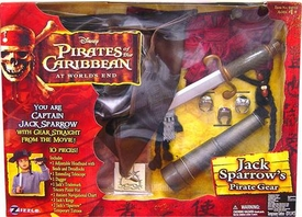 Zizzle Pirates of the Caribbean At Worlds End Jack Sparrow Roleplay Set