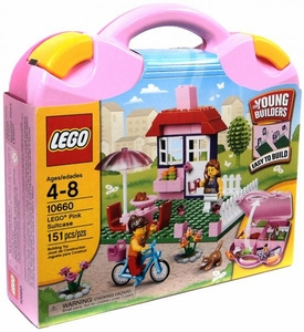 LEGO Young Builders Set #10660 Pink Suitcase