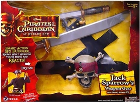 Zizzle Pirates of the Caribbean At Worlds End Jack Sparrow Weapon Gear [Smart Action SFX]