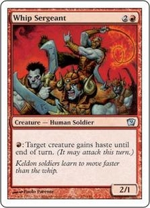 Magic the Gathering Ninth Edition Single Card Uncommon #227 Whip Sergeant