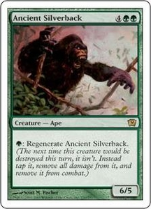Magic the Gathering Ninth Edition Single Card Rare #230 Ancient Silverback