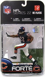 McFarlane Toys NFL Sports Picks Series 22 [2009 Wave 3] Action Figure Matt Forte (Chicago Bears) Blue Jersey