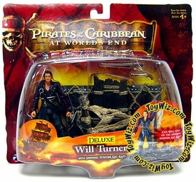 Disney Pirates of the Caribbean At Worlds End Zizzle 3 3/4 Inch Action Figure Series 3 DELUXE Will Turner