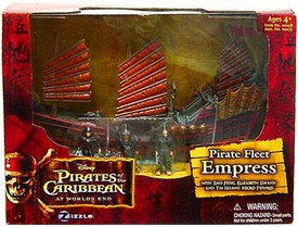Disney Pirates of the Caribbean At Worlds End Zizzle Micro Ship Playset Empress