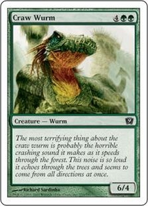 Magic the Gathering Ninth Edition Single Card Common #233 Craw Wurm