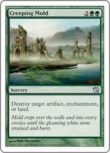 Magic the Gathering Ninth Edition Single Card Uncommon #234 Creeping Mold