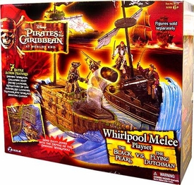 Zizzle Pirates of the Caribbean At World's End Toy Whirlpool Melee Playset