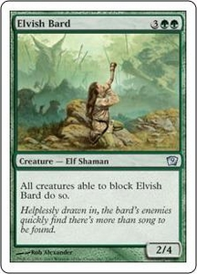 Magic the Gathering Ninth Edition Single Card Uncommon #236 Elvish Bard