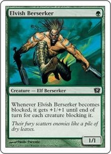 Magic the Gathering Ninth Edition Single Card Common #237 Elvish Berserker