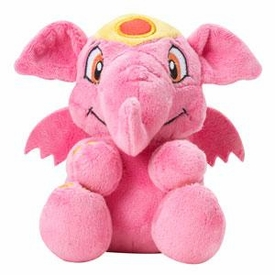 Neopets Collector Species Series 6 Plush with Keyquest Code Pink Elephante