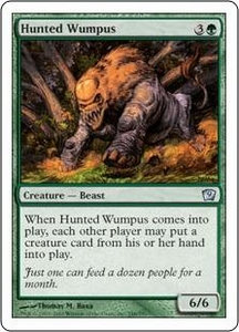 Magic the Gathering Ninth Edition Single Card Uncommon #248 Hunted Wumpus
