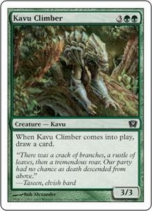Magic the Gathering Ninth Edition Single Card Common #249 Kavu Climber