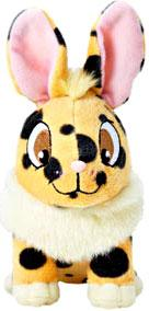 Neopets Collector Species Series 6 Plush with Keyquest Code Spotted Cybunny