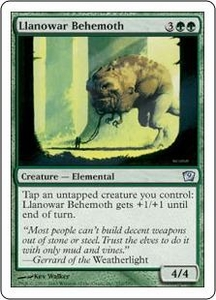 Magic the Gathering Ninth Edition Single Card Uncommon #252 Llanowar Behemoth