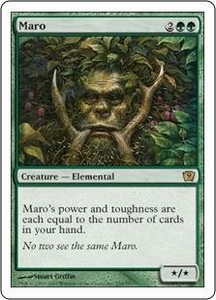 Magic the Gathering Ninth Edition Single Card Rare #254 Maro