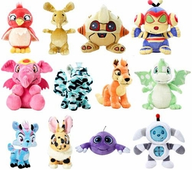 Neopets Collector Species Series 6 Set of 12 Plushes [Includes 1 Random Limited Edition Gold Plush]
