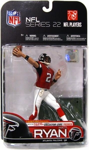 McFarlane Toys NFL Sports Picks Series 22 [2009 Wave 3] Action Figure Matt Ryan (Atlanta Falcons) Red Jersey