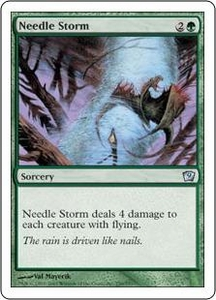 Magic the Gathering Ninth Edition Single Card Uncommon #259 Needle Storm