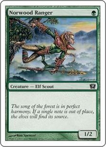 Magic the Gathering Ninth Edition Single Card Common #260 Norwood Ranger