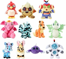 Neopets Collector Species Series 6 Set of 11 Plushes [Does Not Include Limited Edition Gold Plush]