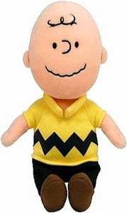 Ty Peanuts Beanie Baby Charlie Brown [Plays Music!]