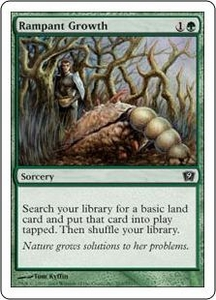 Magic the Gathering Ninth Edition Single Card Common #263 Rampant Growth