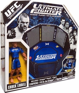UFC The Ultimate Fighter Octagon Ring Playset [Includes Coach Chuck Liddell Action Figure!]