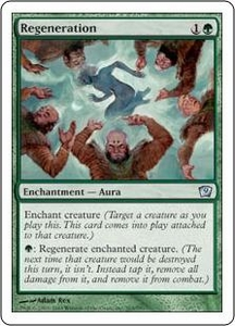 Magic the Gathering Ninth Edition Single Card Uncommon #265 Regeneration