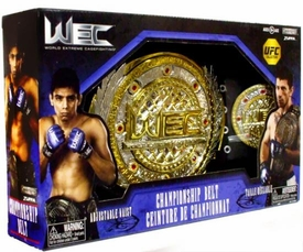 Jakks Pacific MMA WEC World Extreme Cagefighting Championship Belt