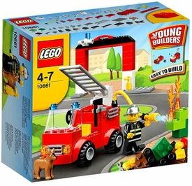 LEGO Young Builders My First Set #10661 Fire Station