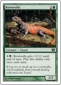 Magic the Gathering Ninth Edition Single Card Common #268 Rootwalla