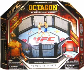 UFC Jakks Pacific DELUXE Ring Official Scale Octagon