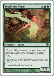 Magic the Gathering Ninth Edition Single Card Rare #270 Seedborn Muse