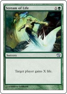 Magic the Gathering Ninth Edition Single Card Uncommon #272 Stream of Life